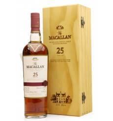 Macallan 25 Years Old - Sherry Oak