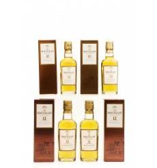 Macallan Miniatures x4