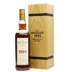Macallan 25 Years Old 1991 - Fine & Rare