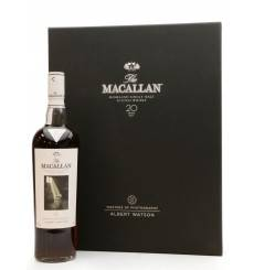 Macallan 20 Years Old - Masters of Photography Albert Watson