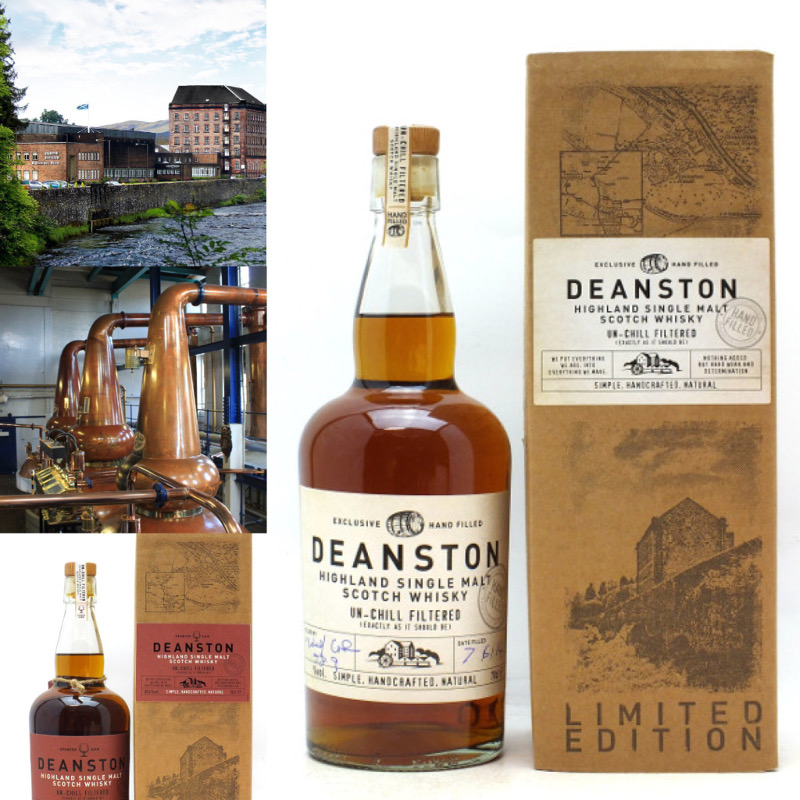 Deanston Distillery & Hand Bottlings