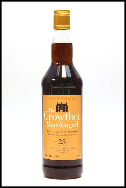 Macallan 25 Year Old The Crowther Macdougall