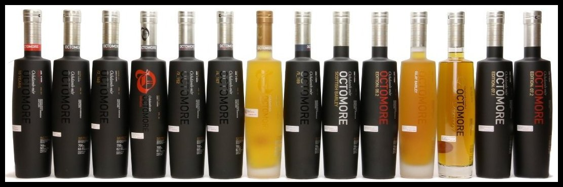 Octomore Bottles